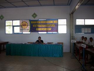 Gb.Ketia IPM Kuncoro Tunjung memberi pengarahan