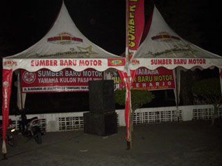 Gb.Tenda-tenda panitia