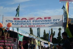 Bazar Dalam Rangka mensukseskan STQ se-DIY di Alun-Alun Wonosari GunungKidul Stq23