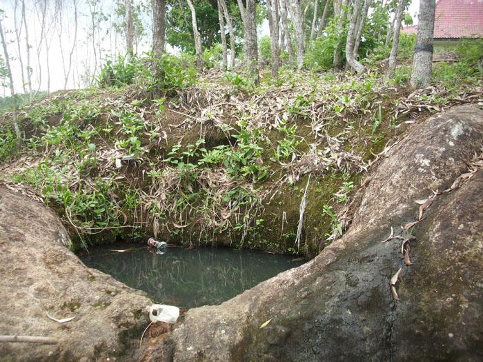 Keajaiban ciptaan allah swt ; sumber air di atas gardu pandang wisata