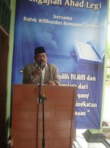 Gb. Bapak Istandi Lurah Giriharjo memberikan sambutan