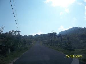 Salah satu sudut desa Terbah Patuk Gunungkidul