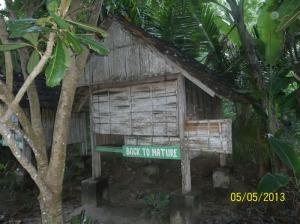 Gb. Rumah penginapan sederhana