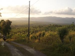 Pemandangan yang indah sebelum masuk lokasi kemah Kedung Ranti