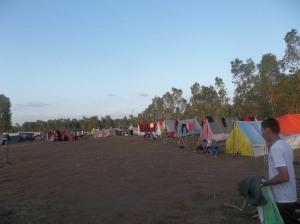 Gb. Lapangan kemah untuk lokasi perkemahan