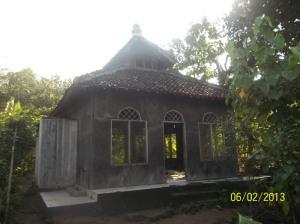 Gb. Masjid Pantai Siung sebelum di renovasi