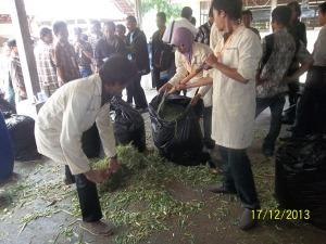 Gb. Praktek Pembuatan Makanan Ternak dengan SGP