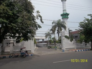 Gb. Pintu Gerbang masjid