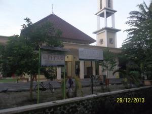 Gb. Masjid Rumah Tahfidz Samparan Yang Megah