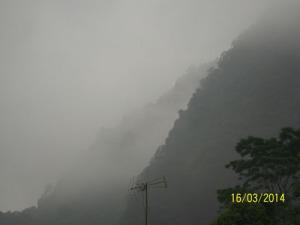 Gb. Bukit Turgo di lihat dari Rumah Alam di bawahnya