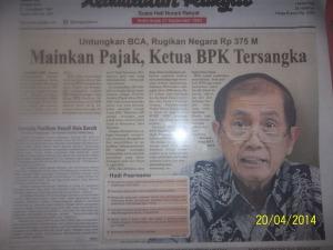 Gb. Berita di harian Kedaulatan Rakyat Yogyakarta
