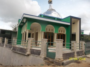 Gb. Salah satu masjid yang indah di Gunungkidul