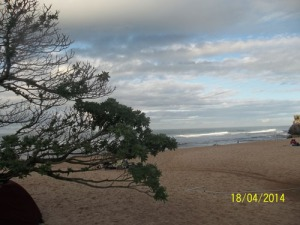 Gb. Pemandangan pantai yang sangat indah