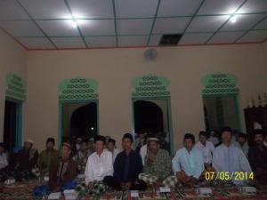 Gb. Jama'ah pengajian yang hadir di masjid Al-Furqon